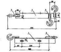 Траверса ТН-27 (ЛЭП.98.08-13) 4,2 кг