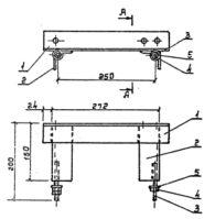 Кронштейн КМ-1 (3.407.1) 2,7 кг